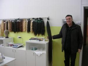 Волосы для производства систем