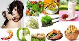 Питание при выпадении волос у женщин (меню)