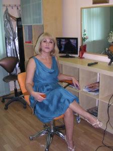 Москвский Центр К33. Мастер Людмила,ведущий специалист-практик по работе с системами замещения волос
