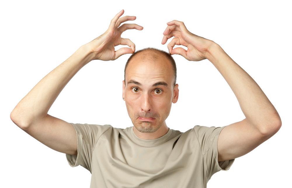 Появление лысины на голове