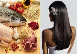 Необходимые продукты для здоровья волос