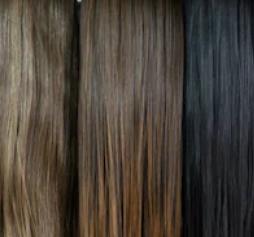 Система замещения из китайских волос стандарт прямая средняя