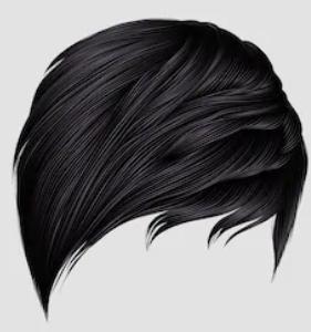 Система замещения из индийских волос стандарт прямая короткая