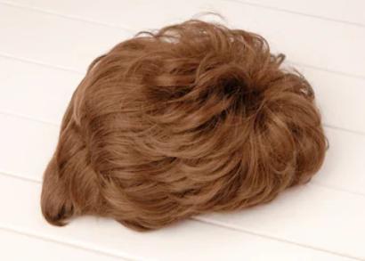 Система замещения из монгольских волос стандарт легкая волна короткая