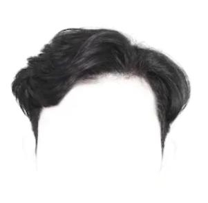Система замещения из китайских волос стандарт легкая волна короткая