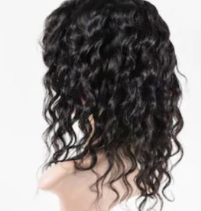 Система замещения из китайских волос стандарт легкая волна средняя
