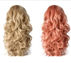 Система замещения из бразильских волос легкая волна длинная