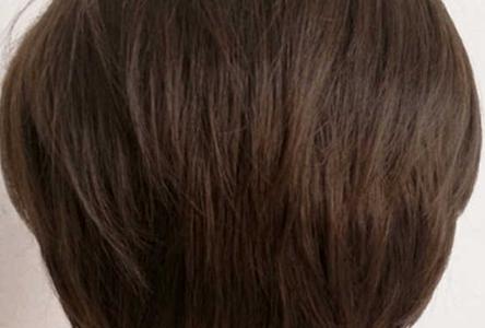 Система замещения из вьетнамских волос Remy hair прямая короткая