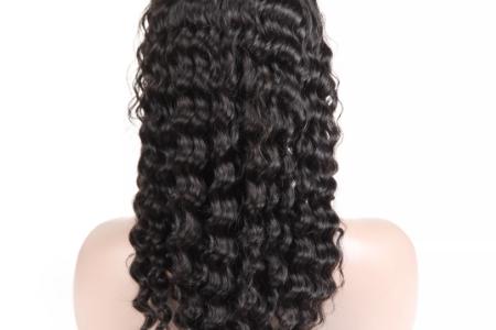 Система замещения из бразильских волос Remy hair кудрявая длинная