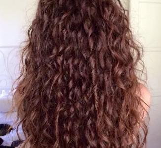 Система замещения из вьетнамских волос Remy hair кудрявая длинная