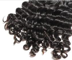 Система замещения из вьетнамских волос Remy hair кудрявая средняя